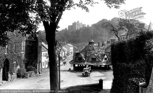 Dunster, Yarn Market And High Street 1919