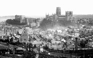 Durham, from Railway Station 1892