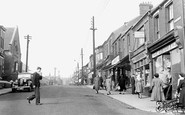 Easington Colliery, Seaside Lane c1955