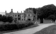 Photo of East Barsham, The Manor House c1965