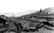 Ebbw Vale, General View c.1955