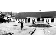 Ebbw Vale, Old Age Pensioners Hall c.1960