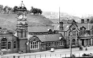 Ebbw Vale, The General Offices c.1950