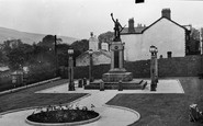 Ebbw Vale, The War Memorial c.1955