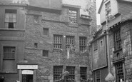 Edinburgh, Moubray House, High Street 1952