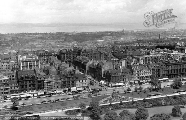 Edinburgh, The City And Firth Of Forth c.1950
