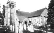Effingham, Church Of St Lawrence 1904
