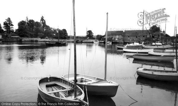 Eling, Quay c.1955