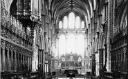 Ely, Cathedral Choir c.1866