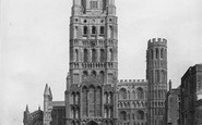 Ely, Cathedral West Front c.1862