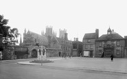 Ely, Market Place 1925