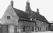 Ely, Old Houses, Silver Street c1955