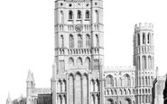 Ely, The Cathedral 1898