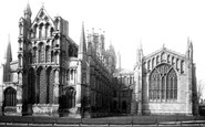Ely, The Cathedral, East End 1891