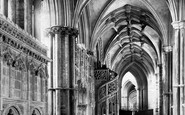 Ely, The Cathedral, North Choir Aisle 1891
