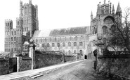 Ely, The Cathedral, South Side And Lantern 1891