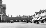 Enfield, Bush Hill Station, St Mark's Road c.1955