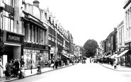 Enfield, Church Street c.1960