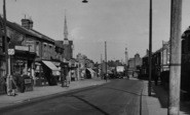 Enfield, Lancaster Road c.1955