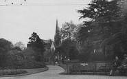Enfield, The Gardens, Chase Side c.1950