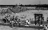 Enfield, the Open Air Swimming Pool c1955