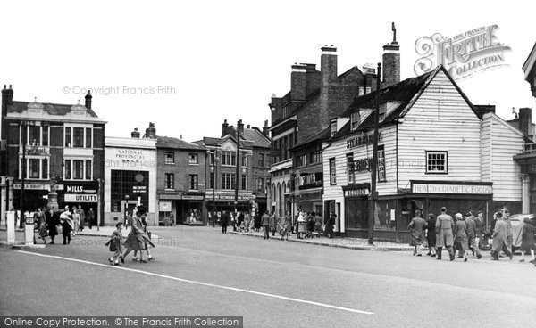 Enfield Town Enfield Town Centre C.1950