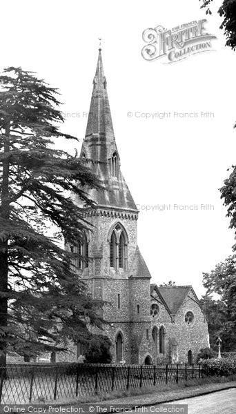 Englefield st mark 39 s church francis frith St mark s church englefield