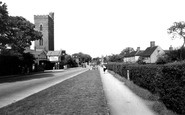 Epping, the Tower and Main Road c1955