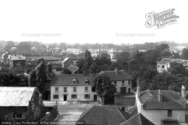 Photo of Epsom, from the Church Tower 1890, ref. 25980