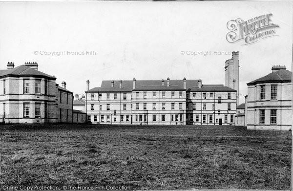 Epsom Horton Hospital Officers Quarters 1903 Francis Frith