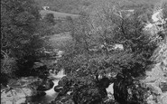 Esgairgeiliog, View From Evans Bridge 1892