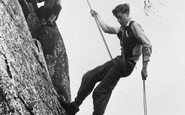 Eskdale, Rock Climbing Instruction, Outward Bound Mountain School c1955