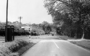 Everton, The Lymington Road c.1955