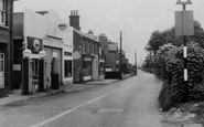 Eythorne, Sandwich Road c.1955
