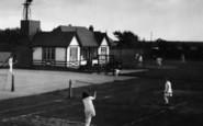 Fairhaven, The Tennis Courts 1925