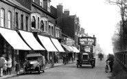 Farnborough, Bus In Lynchford Road 1924