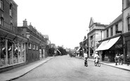 Farnborough, Camp Road 1924