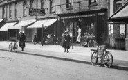 Farnborough, Lynchford Road, Shops 1913
