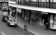 Farnborough, Tesco, Queensmead Shopping Centre c.1965