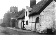 Farnworth, St Luke's Church and Cottage 1900