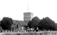 Fawley, All Saints Church c.1955