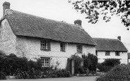 Feock, Cottage In The Village c.1955
