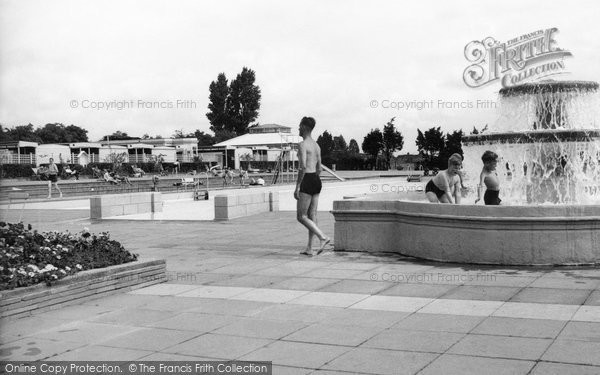 finchley swimming pool francis frith