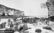 Flamborough, Head, North Landing 1886