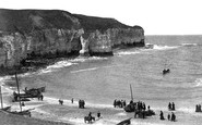 Flamborough, North Landing 1908