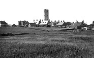 Flamborough, Old Tower And Bungalows c.1950