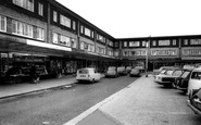 Flixton, the Shopping Centre c1965