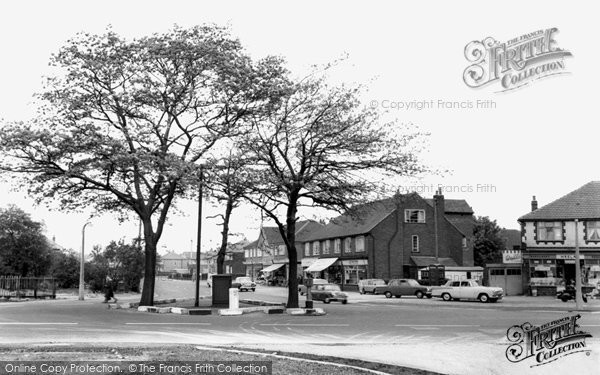 Flixton, Woodsend Road c.1965