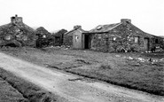 Foula, Old Houses 1959
