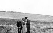 Foula, Peat Digging 1959